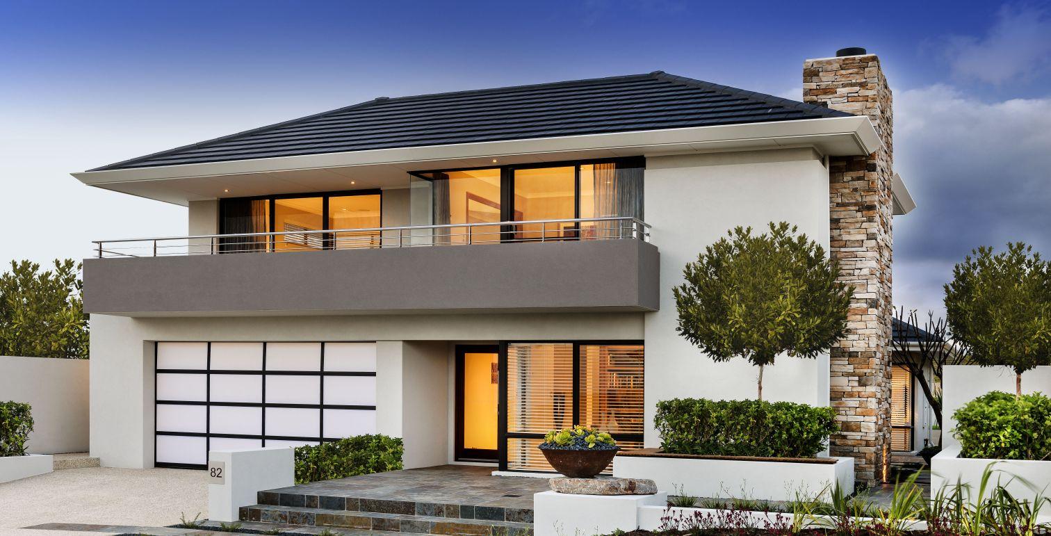 Las tejas piedras naturales cer micas ba os saunas for Fotos de casas modernas con techo de tejas